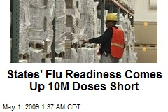 States' Flu Readiness Comes Up 10M Doses Short