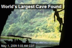 World's Largest Cave Found