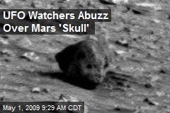 UFO Watchers Abuzz Over Mars 'Skull'