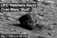 UFO Watchers Abuzz Over Mars 'Skull'