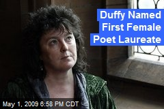 Duffy Named First Female Poet Laureate
