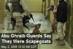 Abu Ghraib Guards Say They Were Scapegoats