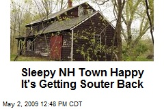 Sleepy NH Town Happy It's Getting Souter Back