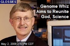 Genome Whiz Aims to Reunite God, Science