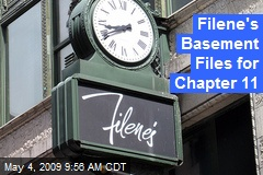 Filene's Basement Files for Chapter 11