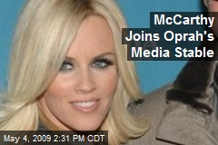 McCarthy Joins Oprah's Media Stable