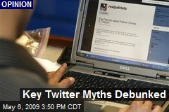 Key Twitter Myths Debunked