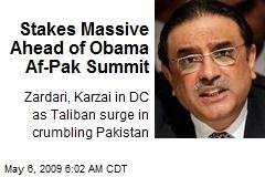 Stakes Massive Ahead of Obama Af-Pak Summit