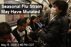 Seasonal Flu Strain May Have Mutated