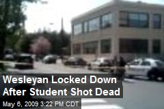 Wesleyan Locked Down After Student Shot Dead