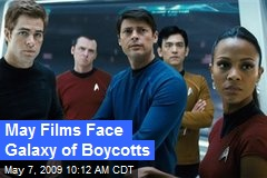 May Films Face Galaxy of Boycotts