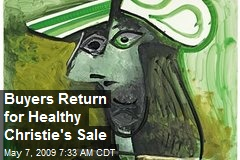 Buyers Return for Healthy Christie's Sale