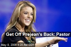 Get Off Prejean's Back: Pastor