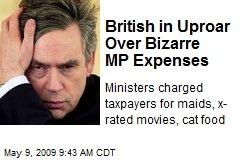 British in Uproar Over Bizarre MP Expenses