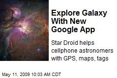 Explore Galaxy With New Google App