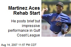 Martinez Aces Rehab Start