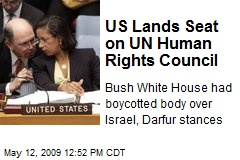 US Lands Seat on UN Human Rights Council