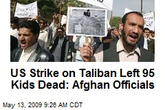 US Strike on Taliban Left 95 Kids Dead: Afghan Officials
