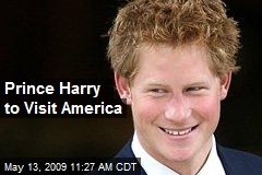 Prince Harry to Visit America