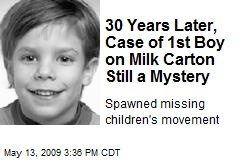 30 Years Later, Case of 1st Boy on Milk Carton Still a Mystery
