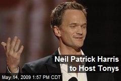 Neil Patrick Harris to Host Tonys