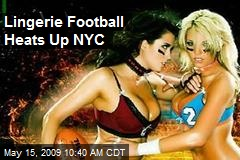 Lingerie Football Heats Up NYC
