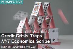 Credit Crisis Traps NYT Economics Scribe