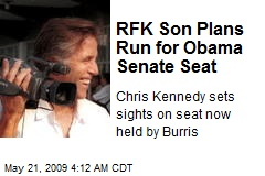 RFK Son Plans Run for Obama Senate Seat