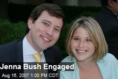 Jenna Bush Engaged