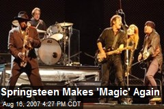 Springsteen Makes 'Magic' Again
