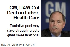 GM, UAW Cut Deal on Labor, Health Care