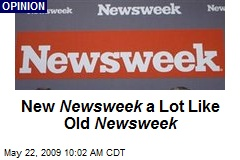 New Newsweek a Lot Like Old Newsweek