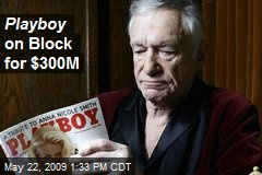 Playboy on Block for $300M