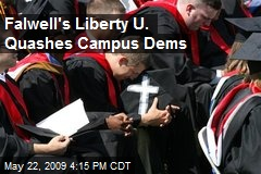 Falwell's Liberty U. Quashes Campus Dems