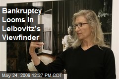 Bankruptcy Looms in Leibovitz's Viewfinder