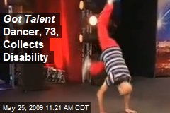 Got Talent Dancer, 73, Collects Disability