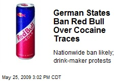 German States Ban Red Bull Over Cocaine Traces