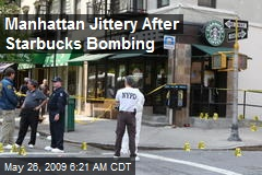 Manhattan Jittery After Starbucks Bombing