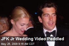 JFK Jr Wedding Video Peddled