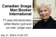 Canadian Snags Man Booker International