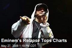 Eminem's Relapse Tops Charts