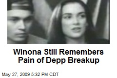 Winona Still Remembers Pain of Depp Breakup