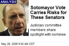 Sotomayor Vote Carries Risks for These Senators