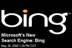 Microsoft's New Search Engine: Bing