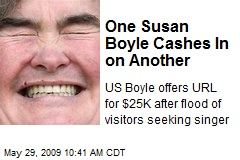 One Susan Boyle Cashes In on Another