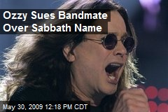 Ozzy Sues Bandmate Over Sabbath Name