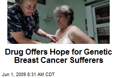 Drug Offers Hope for Genetic Breast Cancer Sufferers