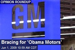 Bracing for 'Obama Motors'