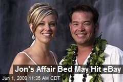 Jon's Affair Bed May Hit eBay