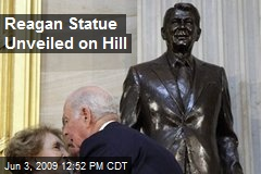 Reagan Statue Unveiled on Hill